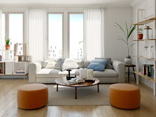 Living room by Valantia Studio