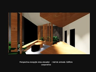 Modern Corridor, Hallway and Staircase by RoPinheiro Modern
