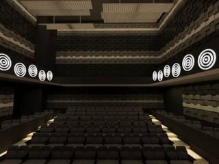 Teatro: Paredes de estilo  por MC Interior