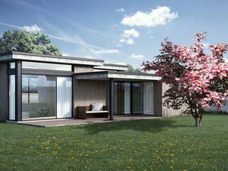 Rendering 3D Fotorealistici Esterni di Rendering Evolution Studio Moderno