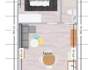 غرفة المعيشة تنفيذ ROX & IRE IBIZA SL