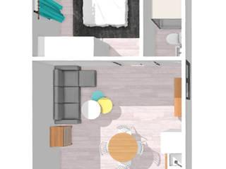 ROX & IRE IBIZA SL Camera da letto in stile mediterraneo