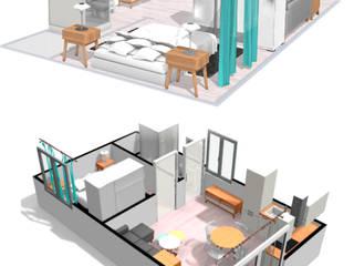 Kitchen units by ROX & IRE IBIZA SL,