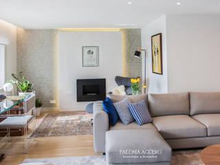 Salones de estilo moderno de Paloma Agüero Design Moderno
