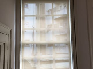 Estores de Rolo Translúcido Corredores, halls e escadas modernos por Plano A Moderno