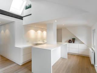 مطبخ ذو قطع مدمجة تنفيذ Schuster Innenausbau