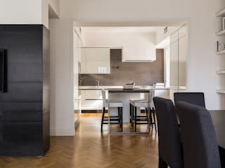 a2 Studio Borgia - Romagnolo architetti Cocinas de estilo moderno