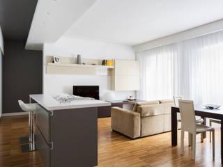 a2 Studio Borgia - Romagnolo architetti Livings de estilo moderno