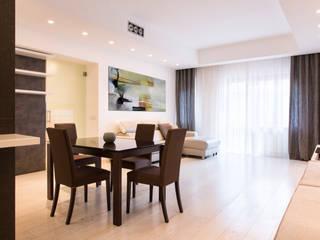 Modern dining room by a2 Studio Borgia - Romagnolo architetti Modern