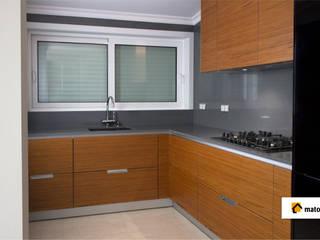 Cozinha Vista A: Cozinhas modernas por Matobra, S.A.