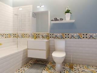 «Леруа Мерлен» представляет новые дизайнерские решения для ванных комнат и обновленную линейку аксессуаров:  в современный. Автор – Leroy Merlin, Модерн