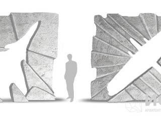 """Проект благоустройства городского сквера """"Аллея героев"""" от Архитектурно-производственная группа ИОЛЛА Эклектичный"""