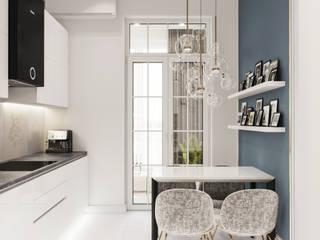Квартира на корабельной: Кухни в . Автор – Happy Design