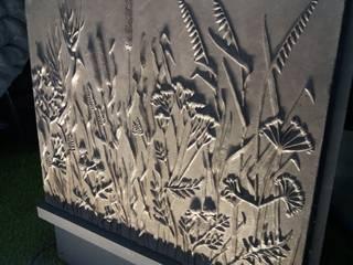 """Проект """"VERESKI"""" Архитектурно-производственная группа ИОЛЛА Стены и полНастенный декор Бетон Серый"""