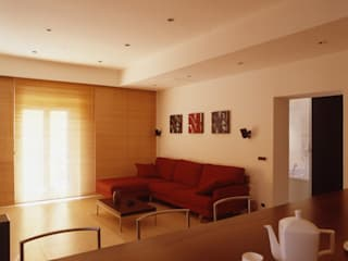 Living room by a2 Studio  Borgia - Romagnolo architetti, Modern