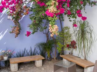 Jardin de descanso: Jardines de estilo  por Bojorquez Arquitectos SA de CV