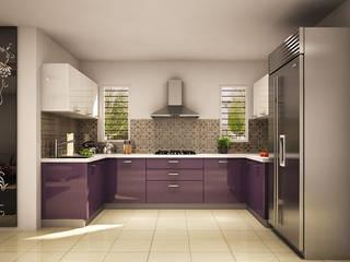Modular Kitchen Design Ideas:   by HomeLane.com
