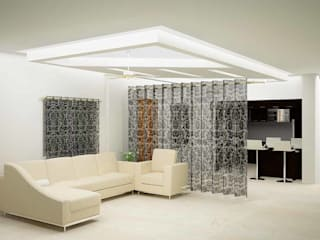 Mr. Guru & Shailaja home interior:   by Inshows Displays Private Limited