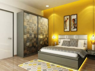 Dormitorios de estilo moderno de A Design Studio Moderno