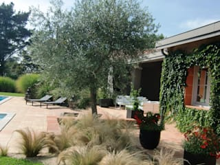KAEL Createur de jardins Giardino in stile mediterraneo