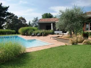 KAEL Createur de jardins Giardino in stile mediterraneo Verde