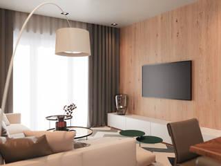 Апартаменты у моря : Гостиная в . Автор – Dinastia Designs
