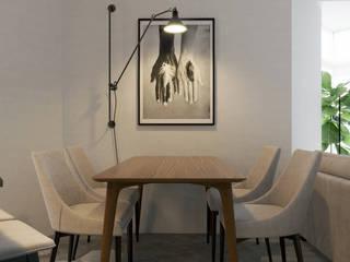 Апартаменты на ул.Бамбуковой, г.Сочи: Столовые комнаты в . Автор – Dinastia Designs