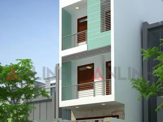 Mẫu thiết kế nhà phố tại quận Gò Vấp:   by CÔNG TY THIẾT KẾ XÂY DỰNG AN LĨNH