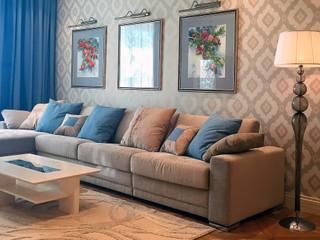 Современная классика: Гостиная в . Автор – Dinastia Designs