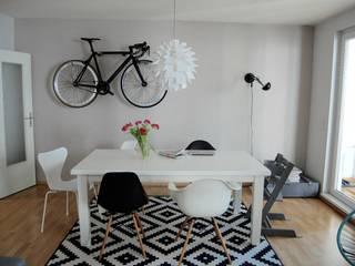 Appartement Berlin:  Wohnzimmer von studio kristin engel