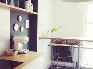 Appartement Berlin:  Küche von studio kristin engel