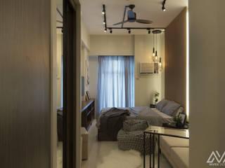 Pasillos, vestíbulos y escaleras industriales de MVRX Designs Industrial