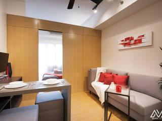 Salones modernos de MVRX Designs Moderno
