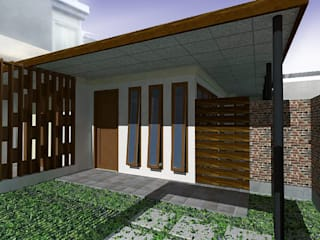by Kahuripan Architect Тропічний