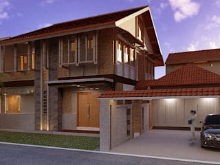 Bintaro House:  Rumah tinggal  by Kahuripan Architect
