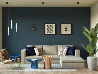Salón : Salones de estilo  de Isabel Gomez Interiors