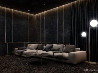 Home cinema in Paris: Электроника в . Автор – Diff.Studio, Модерн