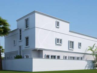 Classic Saudi Arabian Villa Exterior Design by Comelite Architecture, Structure and Interior Design Classic