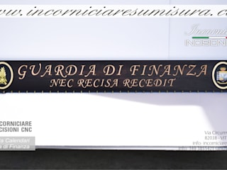 PORTA CALENDARI GUARDIA DI FINANZA :  in stile  di INCORNICIARE