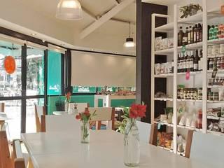 Almacen organico, Cultivarte Devoto: Bodegas de estilo  por TORRETTA KESSLER Arquitectos