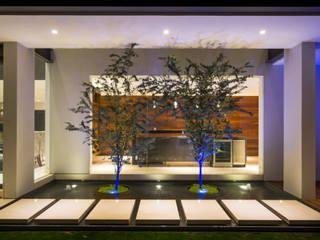 Detalle decoración en jardín: Jardines de estilo  por René Flores Photography