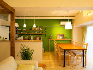 green heartful home ~オトナ・リノベーション~: 株式会社スタイル工房が手掛けたです。