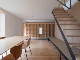 リビングダイニング: 一級建築士事務所 SAKAKI Atelierが手掛けたリビングです。