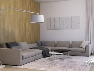 Living room by Студия Инстильер | Studio Instilier, Minimalist