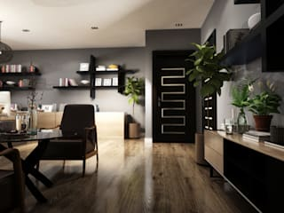 CEO Office Design by TK Designs Modern