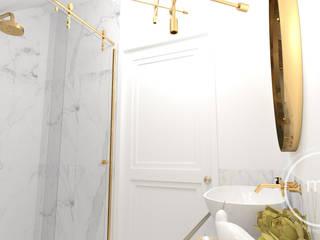 Projekt wnętrza mieszkalnego - łazienka: styl , w kategorii  zaprojektowany przez M&M Magdalena Stano