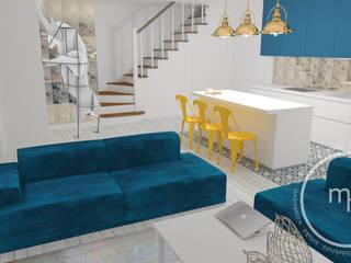 Projekt wnętrza mieszkalnego 2, Tarnów 2018: styl , w kategorii  zaprojektowany przez M&M Magdalena Stano