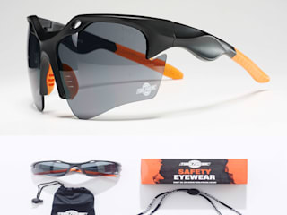 ToolFreak Safety Glasses: modern  by ToolFreak, Modern