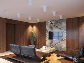 Кабинет генерального директора: Офисные помещения в . Автор – Duplex Apartment Интерьерные решения,