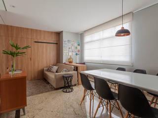 Apartamento .MJ Salas de estar modernas por Amis Arquitetura e Decoração Moderno